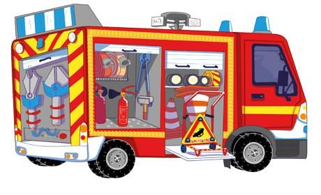 Les Pompiers – Belin édition
